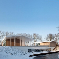 'L House' by the Dutchs architects Grosfeld Van Der Velde Architecten in Oosterhout - Netherlands.