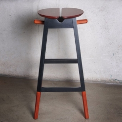 'Capitan' Stool by the French architect Maurice Padovani.