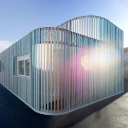 'Makarenko nursery school' by French architects Ellenamehl, in Irvy-sur-Seine, France.