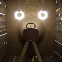 sneak preview of the Amsterdam  introduction of Nike Sportswear in sneaker/conceptstore 290sqm by creative agency ...,staat  (photo by Joachim)