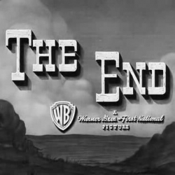 "Screen captures of ""The End"" found at, well, the end of movies."