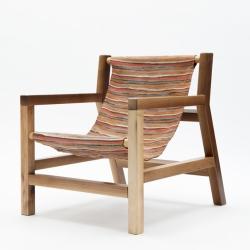 'Piateda' armchair by Italian designer Giorgio Bonaguro.