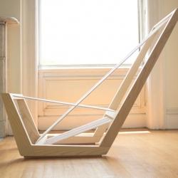 'The Single Cord Lounge' by American designer Josh Shiau.