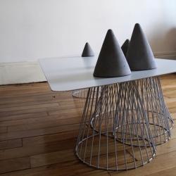 'Vuoristo' table by French designer Fabien Barrero+Carsenat.