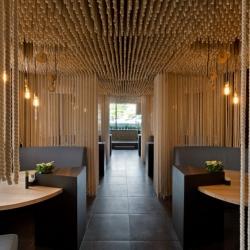 'Restaurant Odessa' by Ukrainian architects YOD Design Lab in Odessa, Ukraine.