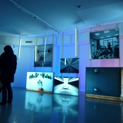 Stereo Exhibition - Cool ambiental exhibition of emerging croatian and slovenian artists in Nova Gorica, Slovenia. Great collaboration of artists, curators and architects. All for 1000 euro!