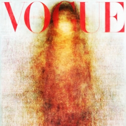 All the VOGUE covers in 2010 look like a predictable blobby Virgin Mary, save for the Italian editions (click through) whose covers are the exception.