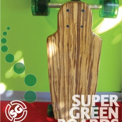Each of these buttery rides is custom built, one of a kind, signed and numbered by the creator!  Super Green Boards - these babies are green and getting greener by the minute as technology and eco-awareness increase