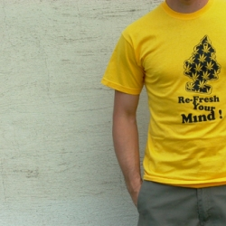 refresh your mind [Editor's Note ~ check out Crash 74's sweet stencils and other shirt designs]