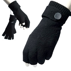 "ShadeElaine posted these to NotCouture saying ""The nicest fingerless gloves I've seen... cashmere with leather covered button. by 3.1 Phillip Lim"" I think they might be iPhone gloves! (although they are named hobo gloves)"