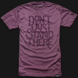 'Don't Just Stand There' - Every Ugmonk item purchased through Dec 31 = a day of meals for orphans around the world.