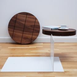 'Sur le Fil' Table by Polish designer Pawel Grobelny, presented during the Paris Design Week 2013.