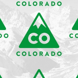 The state of Colorado rolls out its first logo.