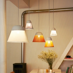 'Ray' pendants by Swiss designer Thomas Kral for Petite Friture.