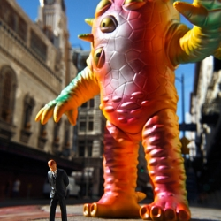 "Brian McCarty does Kaiju. ""Business as Usual"""