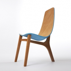 'Baby Blue' chair by French designer Paul Venaille.