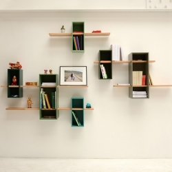 'Max' shelves by French Architect Olivier Chabaud for Edition Compagnie.