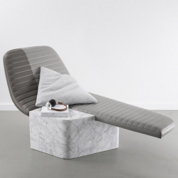 'Lounge chair Opper' by French architect and designer Grégoire de Lafforest for the Galerie Gosserez.