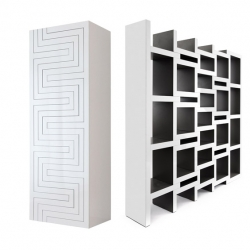 'Rek' modular bookshelves by Dutch designer Reiner de Jong.