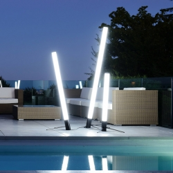 'Oblik' lamps by French designer Christophe Mayer  for Digiplay Studio.