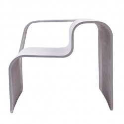 'Concrete outdoor chair' by designer Tina Rugelj for Esal.