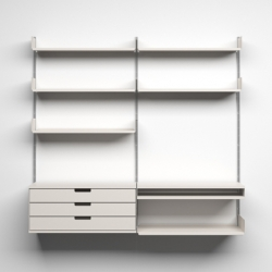 Vitsoe celebrates 50 years of Dieter Rams' shelving system.