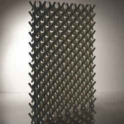 'Kakine' paper paravent by Japanese designer Yasutoshi Mifune.