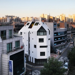 'White House' by Design band YOAP in Seoul, Korea.