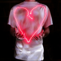 Valentine's Day Lightpainting Prints For Sale by MRI.