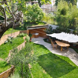 'Pop Up' garden in Chiavari, Italy, by architect Nicola Spinetto.