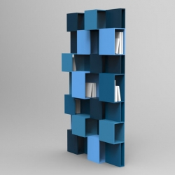 'Pixl' bookshelf by French designer Fabrice Berrux for Roche Bobois.