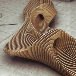 'Parametric Form' by Russian architect and designer Oleg Soroko.