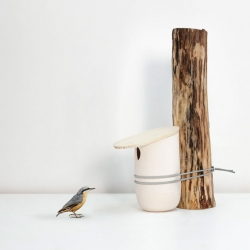 'Mikko' Birdhouses by French studio Pygmalion.
