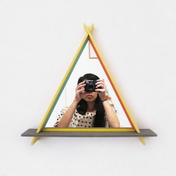 'A-Frame Mirrors' by Brooklyn designers Chiaozza.