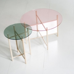 German design studio llot llov will be bringing their new side tables 'Elias and Son' to Interieur 2010 Design Biennale in Kortrijk, Belgium later this month.