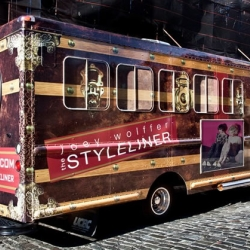 The Styleliner is a retired potato chip truck that now tours the US loaded with indie designer accessories and fashion.