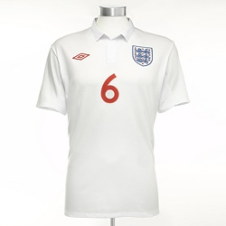 Umbro has redesigned England's Footlball shirt using London bespoke tailors and recalling their best shirts of the past.