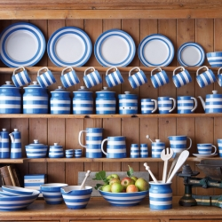 Cornishware is back! T.G.Green & Co was rescued from extinction, the brand that was true to design principles that made it a part of everyday life. Over 50 pieces to choose from.