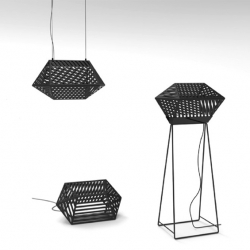 'Stripes' Indoor-Outdoor lighting by French designer Joran Briand for Confidence and Light.