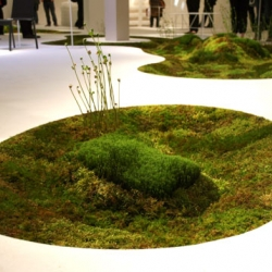 Featured at the Milan Furniture Fair, this beautiful biodegradable moss planter by Makoto Azuma creates an indoor glade in the heart of your home.