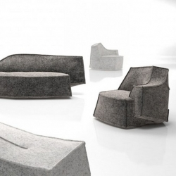 'Airberg' sofas and armchairs collection by French designer Jean-Marie Massaud for Offecct.