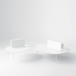 'Softer Than Steel' furniture's collection by Nendo for Desalto.