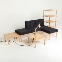'Frei_Raum' modular furniture by Austrian designer Matthias Dornhofer.