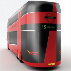 Proposed redesign of London buses.