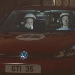 Nice video of Volkswagen's latest Golf GTI taking on time travel...