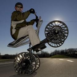 Wheely dope // Michelin have re-invented the wheel!   Ladies and gentlemen - the TWEEL.