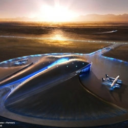 Another way to see airports designed by Foster + Partners