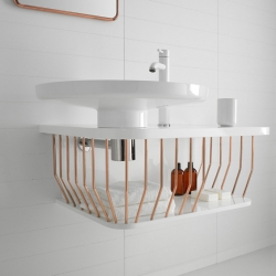 'Bowl'  bathroom furniture collection bu French dedigner Arik Levy for Inbani.