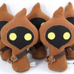 """Fans of plush and Star Wars should run, not walk to the ongoing Stitch Wars exhibition in Lauderhill, Florida; you'll see everything from Wookie Cookies to """"invertible"""" Tauntaun."""