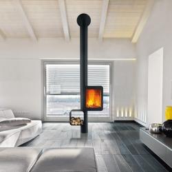 'Grappus' Wood stove by designer Thibault Désombre for Focus Création.